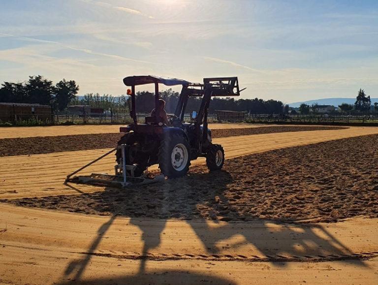 tracteur lovol 50cv sur carriere