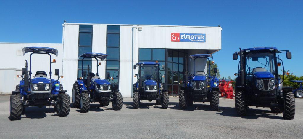 Tracteurs Lovol par eurotek