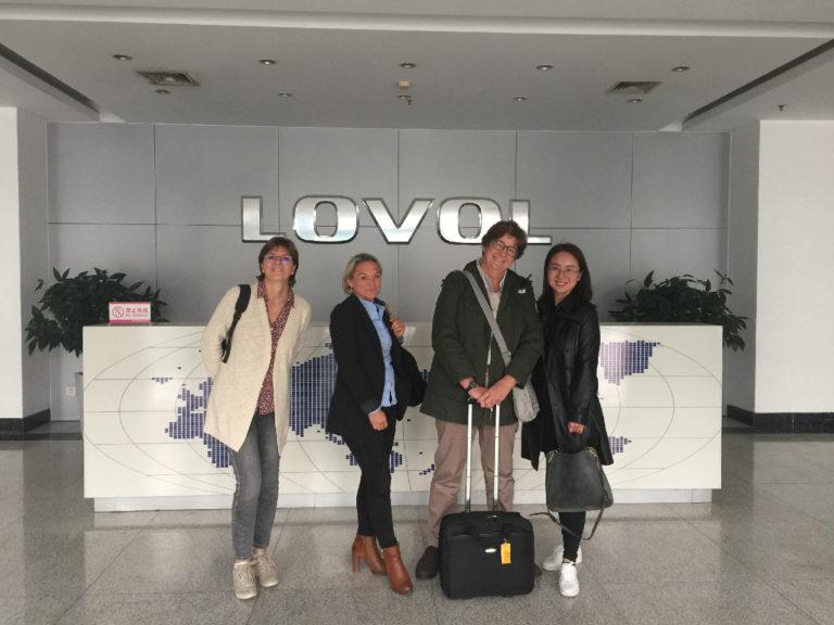 eurotek à l'usine Lovol en chine