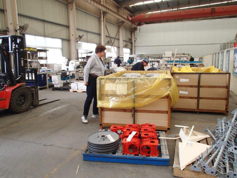 usine Lovol en chine