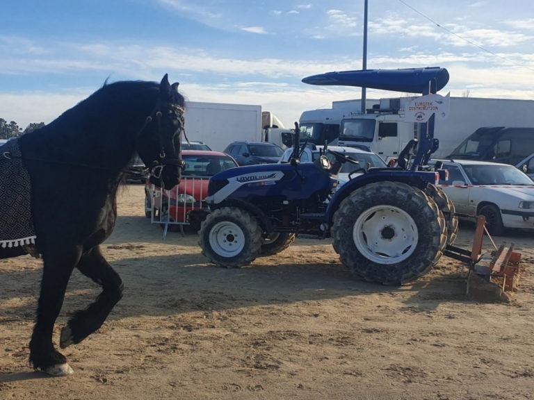 Tracteur lovol partenaire de cheval passion