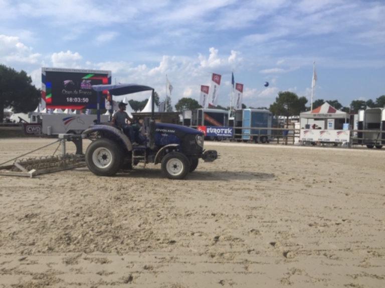 Tracteur lovol partenaire de la FFE