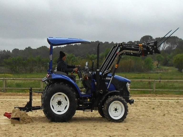 Tracteur lovol 50cv avec chargeur
