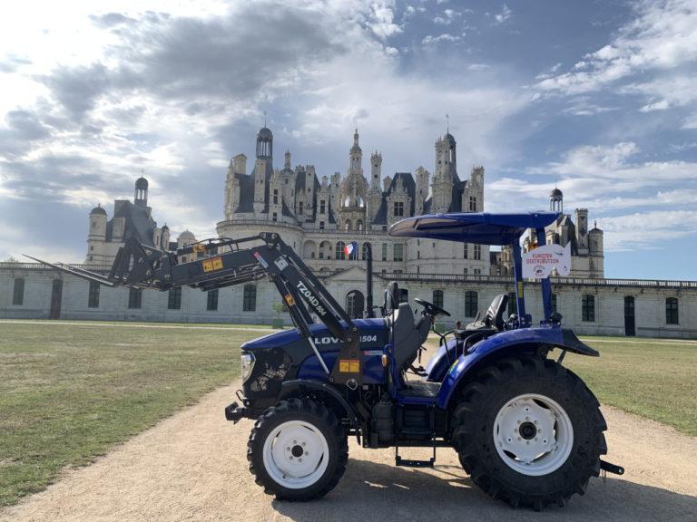 Tracteur lovol au domaine de Chambord