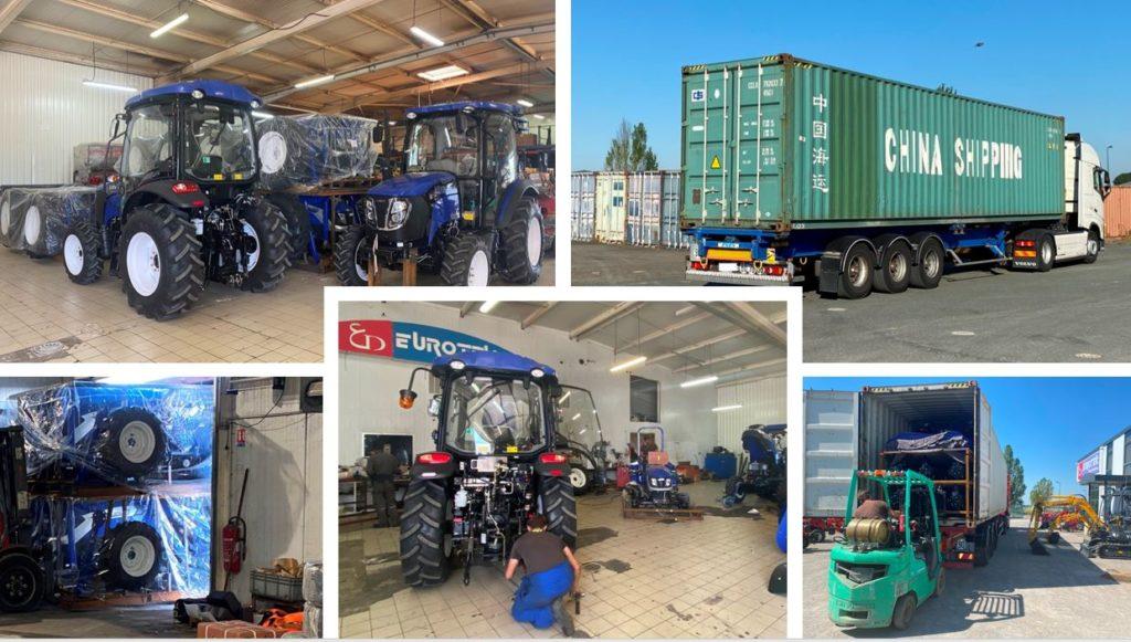 Arrivage tracteurs LOVOL-eurotek