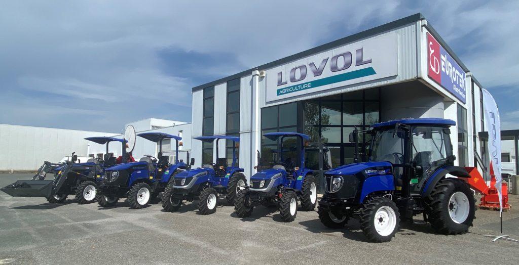 Tracteurs lovol - gamme de 25 à 50cv - Eurotek